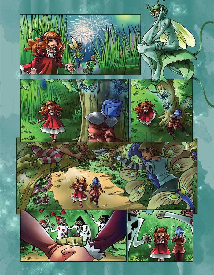 Blue Sparkles - Page 19