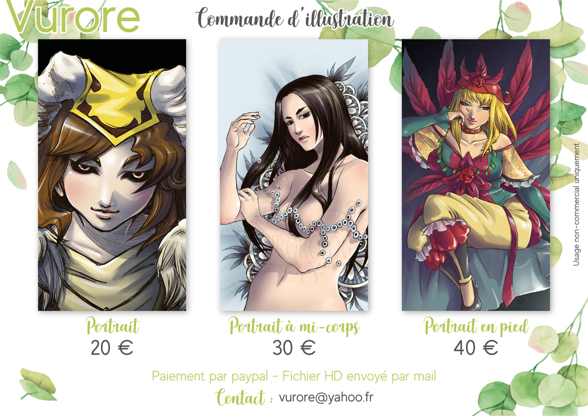 Commande d'illustration
