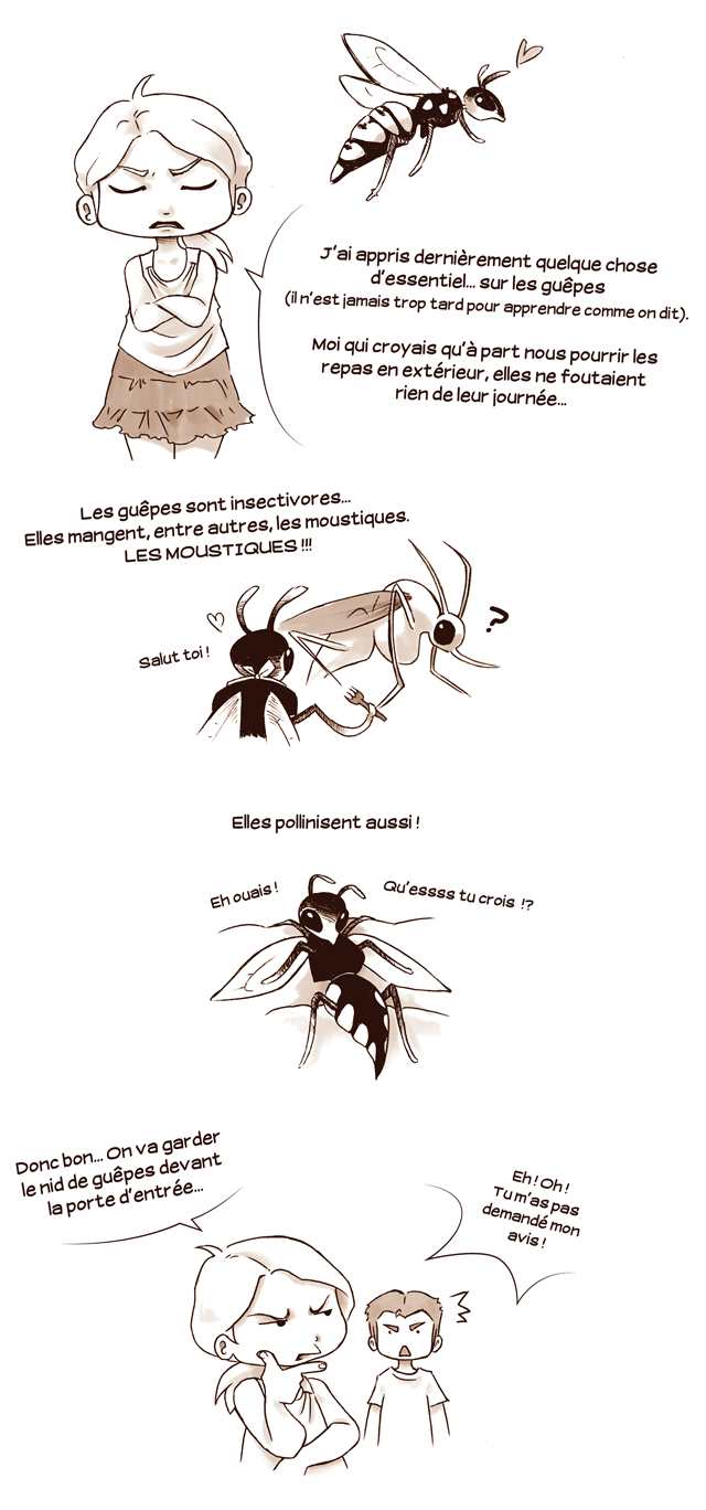 nid de guêpe