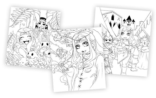 Aelva - nouvelles illustrations