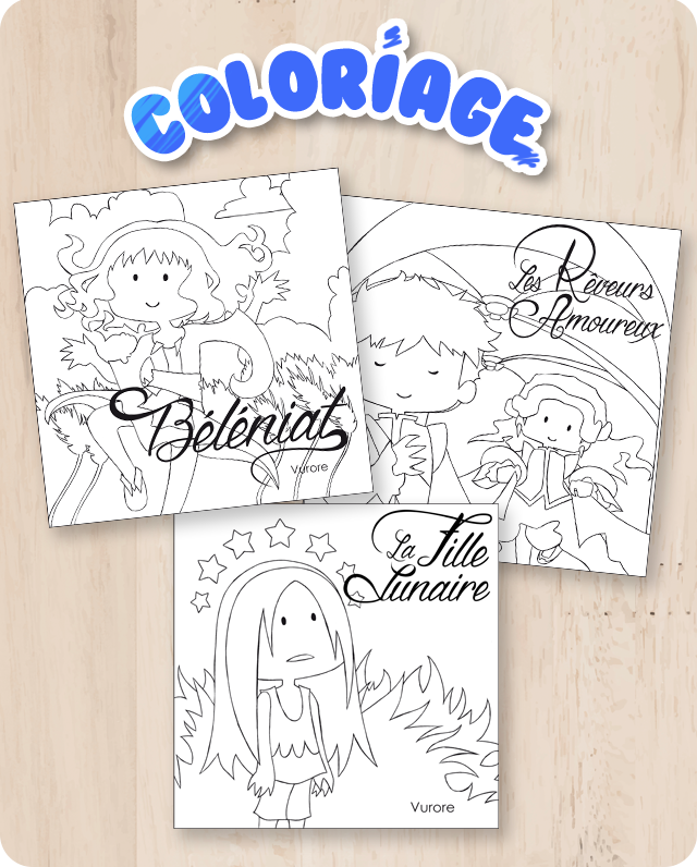 Coloriages contes - 2020