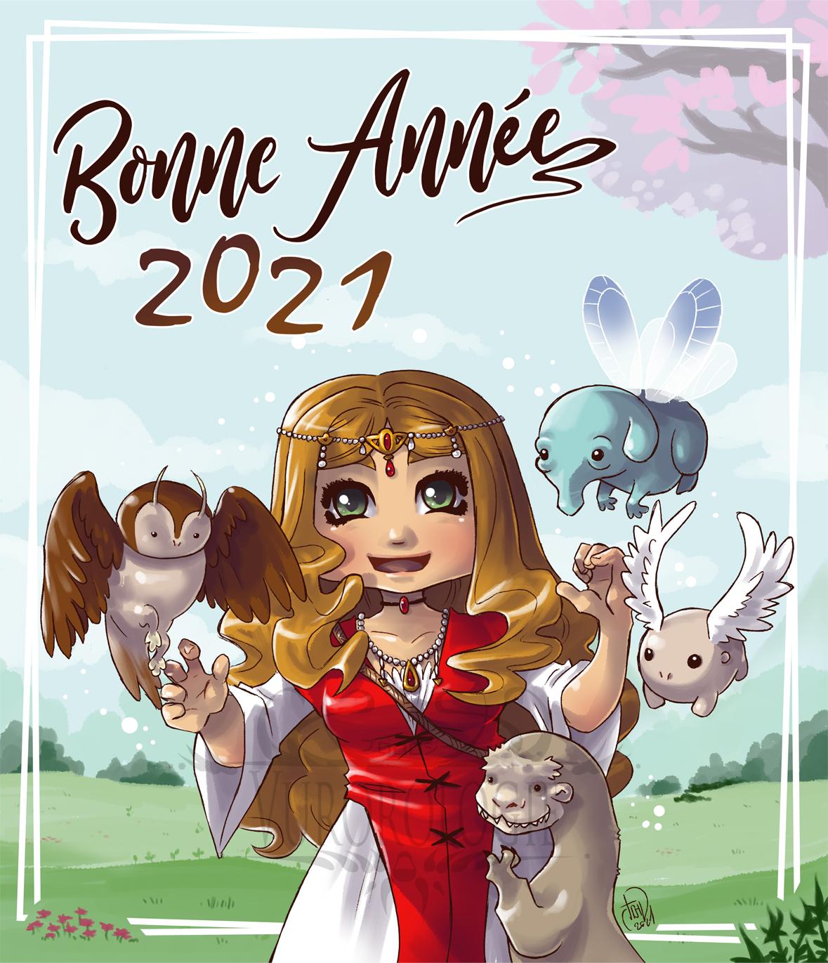 Bonne année 2021 - Aelva