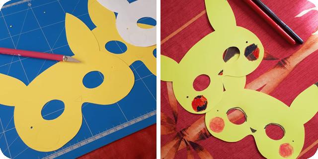 Masque pikachu
