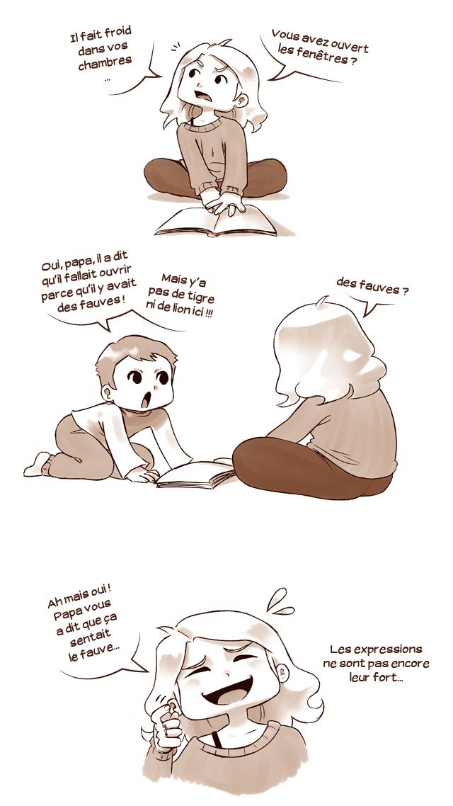 Odeur de fauves