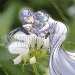 Fleur illustrée - Endormie