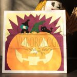 Carte carrée Halloween